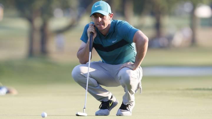 """Mcllroy, """"descorazonado"""" por no pasar el corte del PGA"""