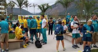 La delegación de Australia, evacuada por un incendio