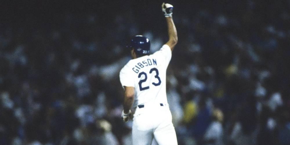 La proeza de Kirk Gibson en las World Series de 1988