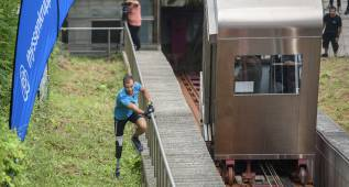 El paralímpico Molina, a un suspiro de vencer al ascensor