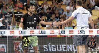 Navarro y Sanyo opositan con entereza a ser la alternativa
