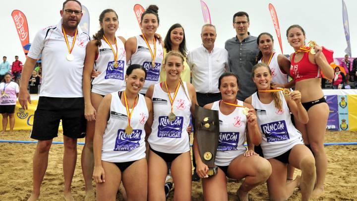 Málaga hace doblete en las finales nacionales de Laredo
