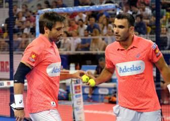 Belasteguín y Lima no dieron opciones a Navarro y Sanyo