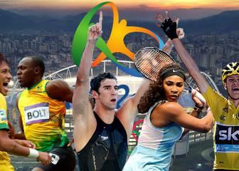 10 megaestrellas mundiales que hay que seguir en Río