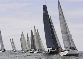 La XXI Regata El Gaitero parte de Getxo con 50 barcos