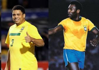Los favoritos para encender la antorcha en Río: Pelé, Ronaldo...