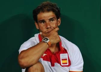 Nadal y Garbiñe, terceros cabezas de serie en individual