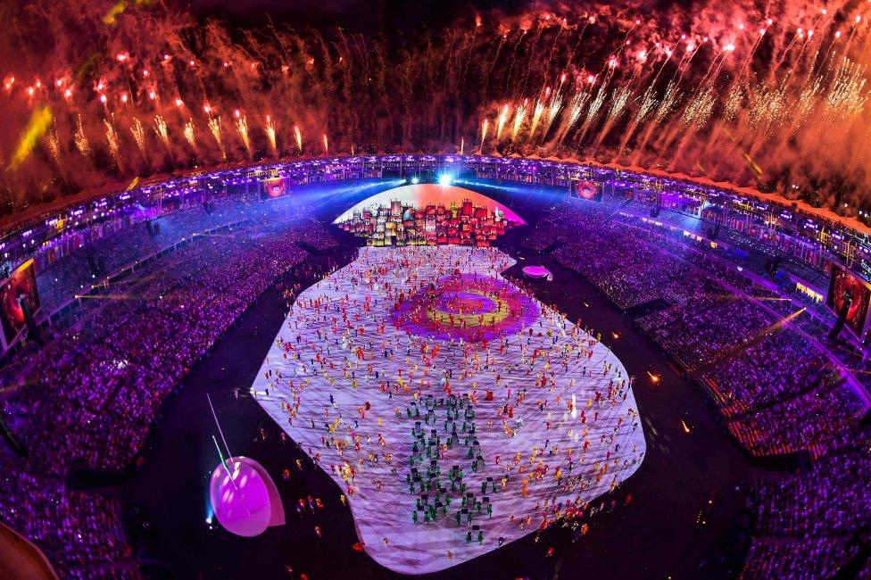 Las mejores imágenes de la inauguración de Río 2016