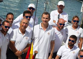 El Rey Felipe VI estará hoy a bordo del 'Aifos' de la Armada