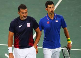 Djokovic también cae eliminado en los dobles en Río