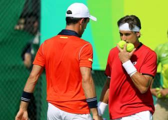 David Ferrer y Roberto Bautista caen eliminados en dobles