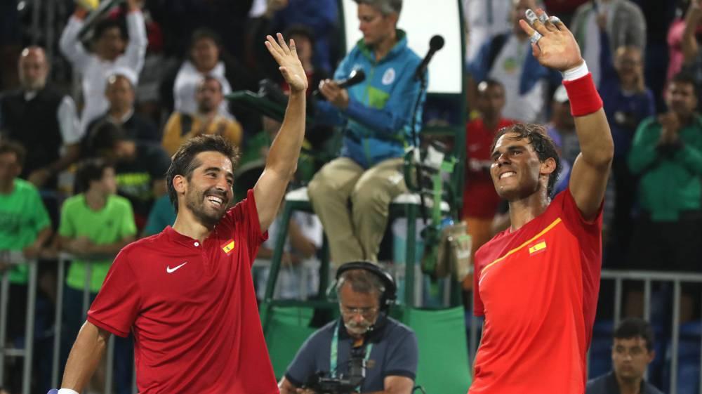 Nadal y Marc López ya están a un paso de medalla en el doble