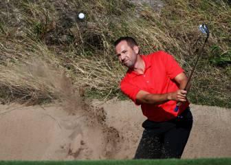 Buen inicio en golf: Cabrera Bello -4 y Sergio García -2