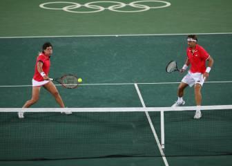 Murray y Watson eliminan del mixto a Ferrer y Carla Suárez