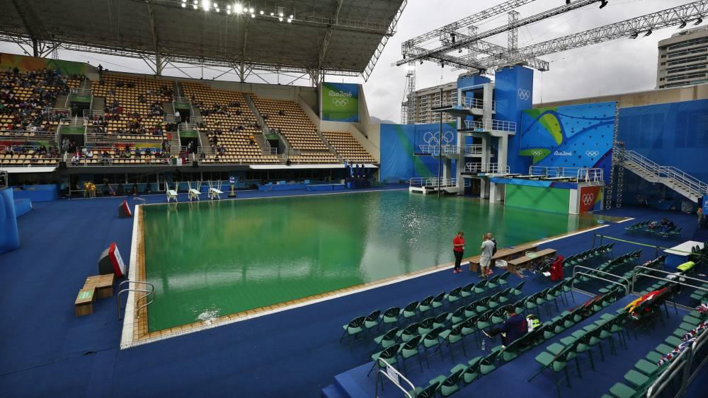 """Juegos Olímpicos: Los saltadores prefieren el agua verde: """"Se ve más"""" - AS.com"""