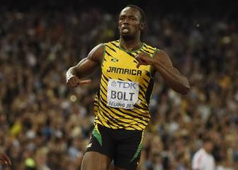 Comienza el atletismo con un desafío: tercer hat-trick de Bolt