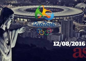 Juegos Olímpicos Río 2016 en vivo y en directo online, hoy viernes 12/08/2016