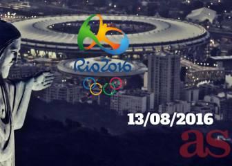 Resumen de Juegos Olímpicos Río 2016 del sábado 13/08/2016