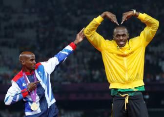 La hora de las grandes estrellas: hoy debutan Bolt y Mo Farah