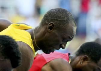 Bolt gana con 10.07 su serie de 100 metros con una floja salida