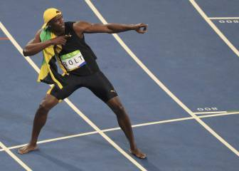 Rio day 9: Bolt makes 100m history on sensational Sunday