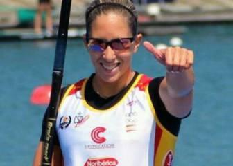 Teresa Portela, otra madre en piragua a por medalla
