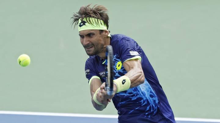 David Ferrer y Nicolás Almagro cayeron en primera ronda.