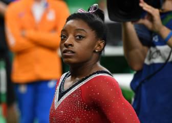 Simone Biles es humana: fue medalla de bronce en barra