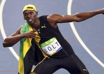Usain Bolt ganó su primer oro de Río en los últimos 28 metros
