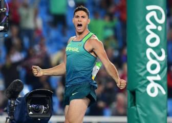Da Silva: el héroe de Brasil en Río arrebata el oro a Lavillenie