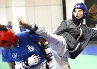 Eva Calvo y Jesús Tortosa: el taekwondo queda en familia
