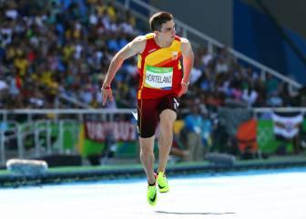 Hortelano corre 17 centésimas más rápido que Bolt