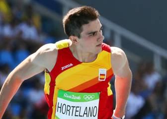 Hortelano gana en su serie y pasa a las semifinales de 200