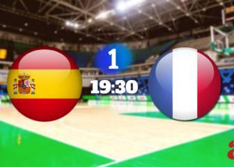 España vence a Francia (92-67) y ya está en semifinales