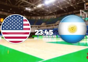 USA vs Argentina en directo online: Baloncesto Juegos Olímpicos Río 2016