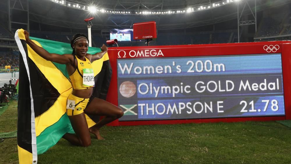 Doblete histórico de Thompson, la nueva reina de la velocidad
