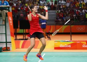 Medalla de oro para Carolina Marín