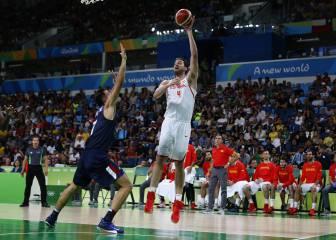 España cae ante USA (76-82) y disputará la medalla de bronce