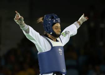 Eva Calvo, plata en taekwondo, da la décima medalla a España