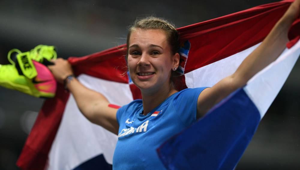 La croata Sara Kolak sorprende a las favoritas en jabalina