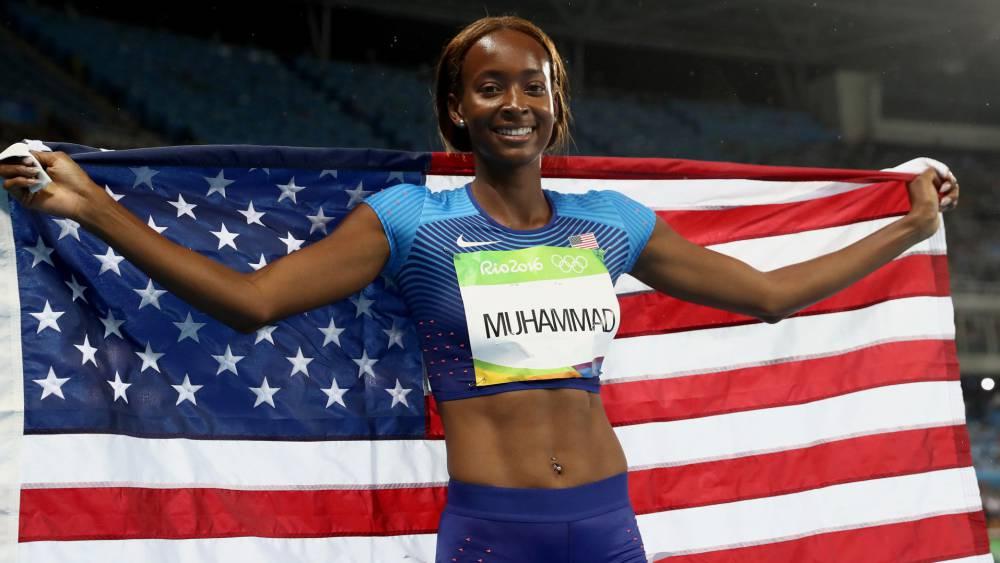Muhammad, oro en 400 vallas, da a EE UU la centésima medalla