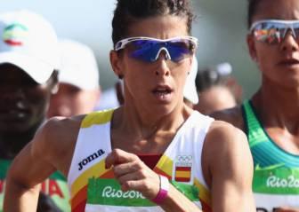 Beatriz Pascual acaba octava en los 20 km marcha, diploma