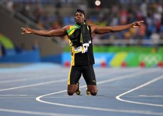 Histórico Bolt: también reina en el 4x100 y logra su noveno oro