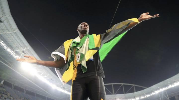 Bolt se pasa el atletismo: 9 oros olímpicos en 3:18.74 minutos