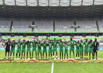 Obi Mikel y Sadig Umar dan el bronce a Nigeria ante Honduras