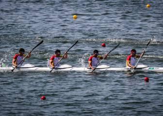 El K4 no consiguió acabar en Río con cuarenta años de espera