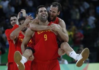 Agónica batalla por el bronce: Australia-España en imágenes