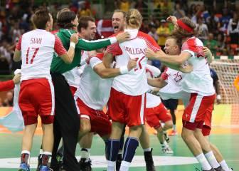 Dinamarca pone fin al dominio olímpico de Francia