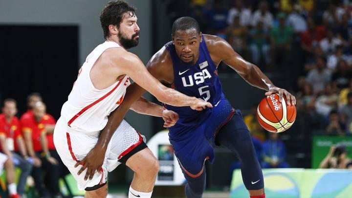 El EE.UU. - España, lo más visto de los Juegos Olímpicos en TV