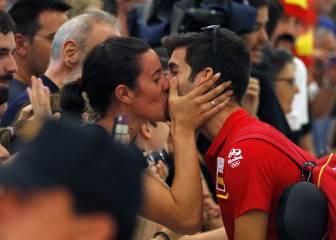 El regreso de los deportistas españoles de Río en imágenes